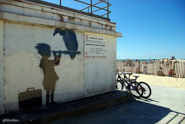 Banksy à Calais