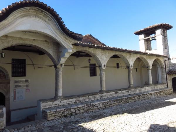 l'entrée du musée (photos interdites à l'intérieur)