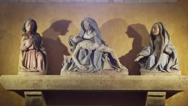 statue de l abbatiale