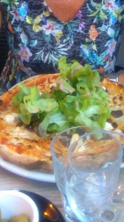 Pizza au magret !
