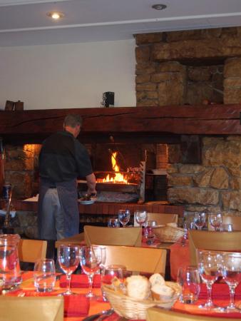 Salle à manger - La cheminée et le grill