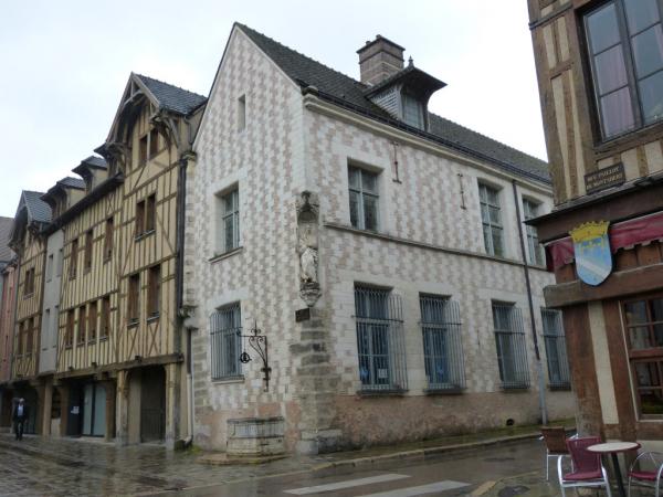 des vieilles maisons à colombage