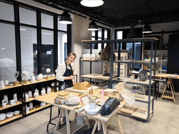l'atelier d'Audrey Jézic ceramiques à Suresnes