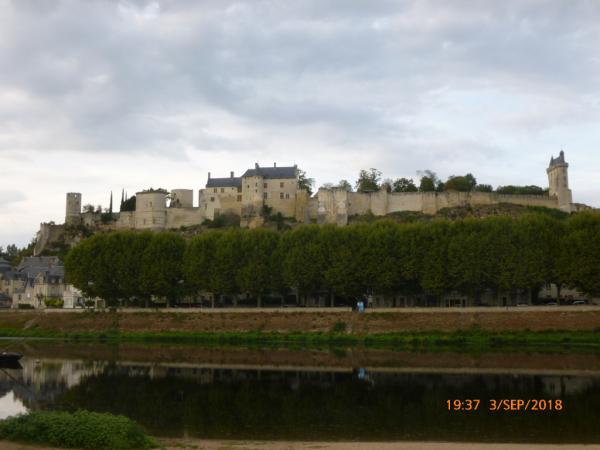 forteresse de Chinon