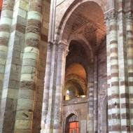 Les piliers et la voûte