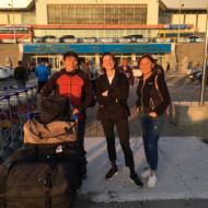 Accueil à l'aéroport de Oulan-Bator
