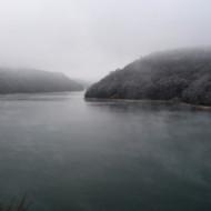 Lac de Vouglans en Hiver...