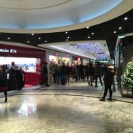 Intérieur du centre commercial
