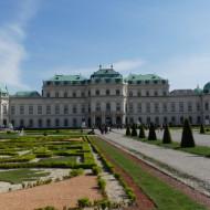 une partie du parc du château