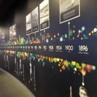 Mur des différents JO