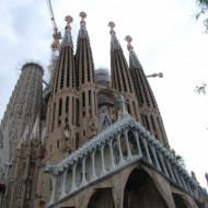 Sagrada Familia, façade de la Passion