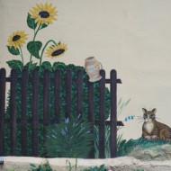 décoration murale extérieure