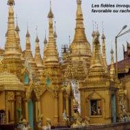 la pagode SHWEDAGGON