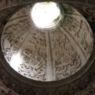 A l'intérieur de l'église du monastère