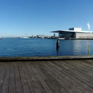 Musée le Titanic vue du pont qui y mène