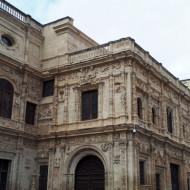 Séville, Ayuntamiento, façade plateresque