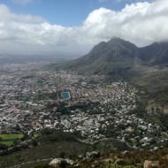 vue sur Table Mountain
