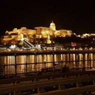 De nuit depuis le Danube