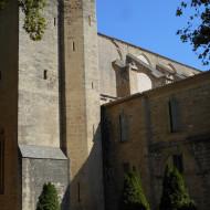 L'abbaye vue de l'extérieur
