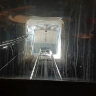 Le tunnel de l'Ascenseur de Rocamadour