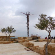 La croix en bronze
