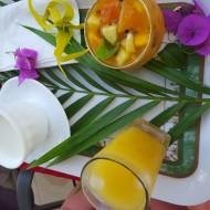Petit déjeuner préparé par Némati