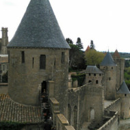 vue de la ville et de ses remparts