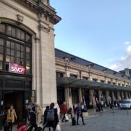 La gare vue de l'extérieur