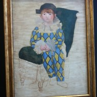 style complètement différent : Paul, le fils de Picasso, oeuvre inachevée