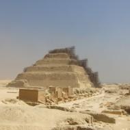 la pyramide à degrés de Djéser