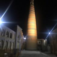 Khiva la nuit absolument personne
