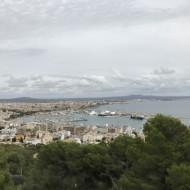 Vue panoramique sur Palma.