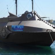 Revoilà le bateau du capitaine Nemo