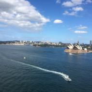L'Opera et la baie vus du pont