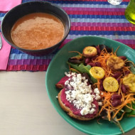 Plat du jour (salade/tartine/soupe)