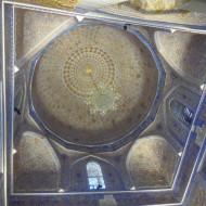 intérieur de la coupole de gour emir