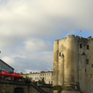 Les halles et le donjon de Niort