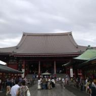 Vue du temple Senso-Ji