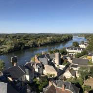 Vue sur la Loire depuis le château