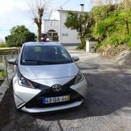 Toyota Aygo, parfaite pour le relief très accidenté des îles de l'Archipel des Açores.