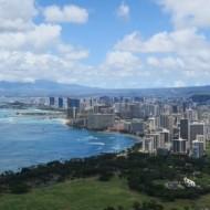 Vue sur Waikiki et Honolulu