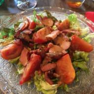Salade de rillons