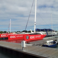 IDEC Sport à la Trinité sur Mer