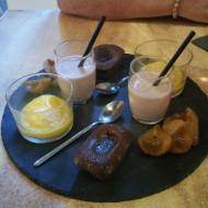 Assortiment de desserts pour 2