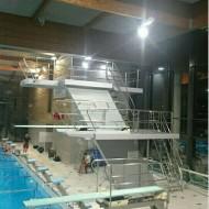 LONS-LE-SAUNIER (39) - Centre nautique Aqua'ReL - Bassin de 25m et plongeoirs