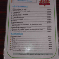 Un menu savoureux