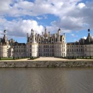 Vue du château et de ses jardins