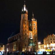 La Basiliique Notre-Dame de nuit