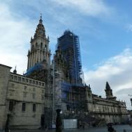 cathédrale en travaux
