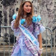 Miss Cayenne prise lors du carnaval 2017